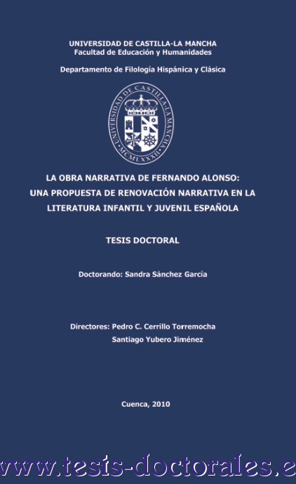 TESIS DOCTORAL (CD) ~ EL MESWY Cover Art