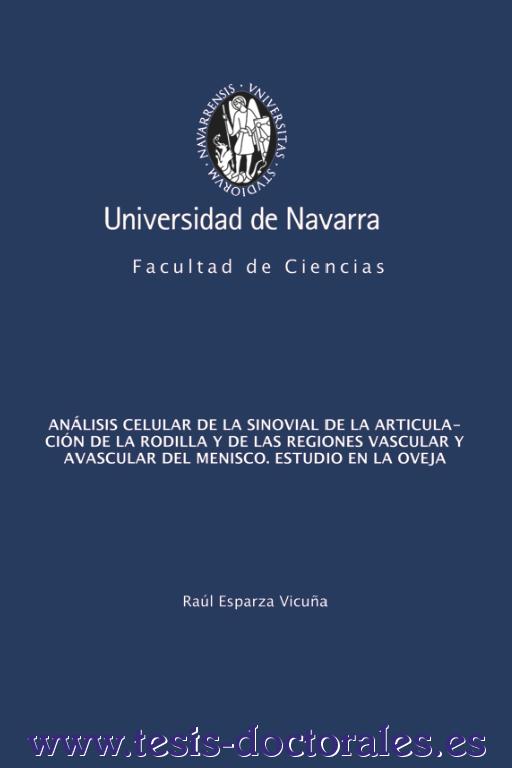 Ver la portada de una tesis doctoral
