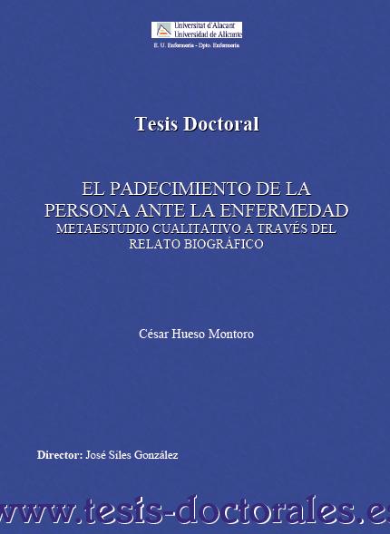 Tesina De Licenciatura Y Tesis Doctoral Pictures